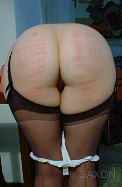 Amateur spankings saxon